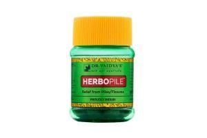 Dr. Vaidya's New Age Ayurveda - Herbopile Ayurvedic Pills For Constipation