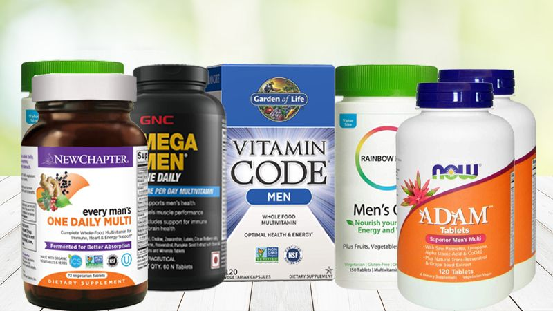 Guide to Pick the Best Multivitamin for Men in India