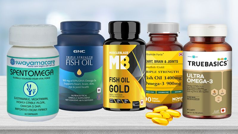 Best Omega 3 Capsules in India for Omega-3 Fats