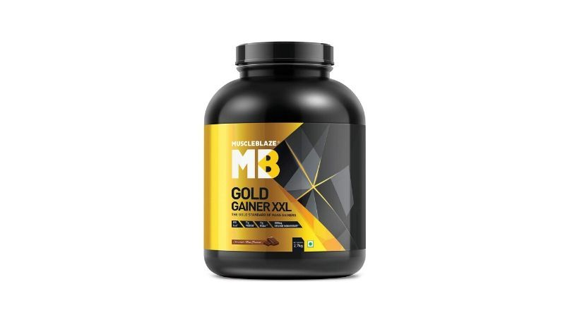 Muscleblaze Gold Gainer XXL Weight Gainer