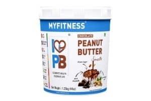 MYFITNESS Chocolate Peanut Butter Smooth 1250g