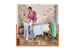 Bathla Mobidry Axis - Large Foldable Cloth Drying Stand