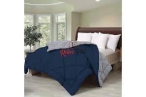 Relaxfeel 250 GSM Luxury Premium 5 Star Microfiber Reversible Comforter